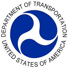 The official logo for the US Department of Transportation